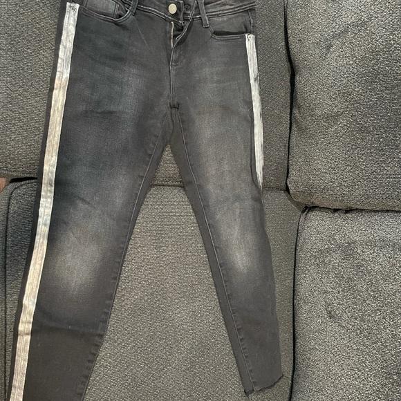 Black Zara Basic z1975 Denim